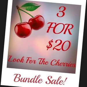 Bundle Sale 3 for 20